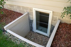 basement window exterior