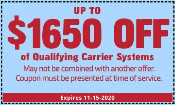 W. G. Speeks Carrier System Coupon 2020